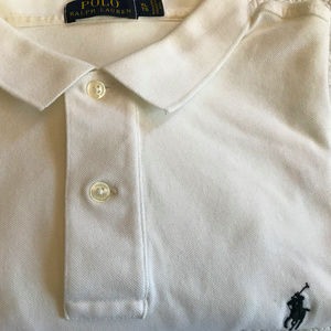 White Polo Ralph Lauren